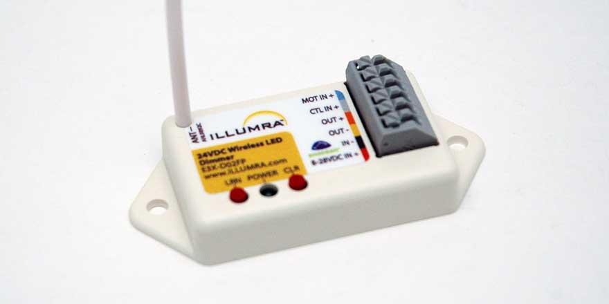 Wireless Dimmer Receiver 315MHz E3X-D02FP