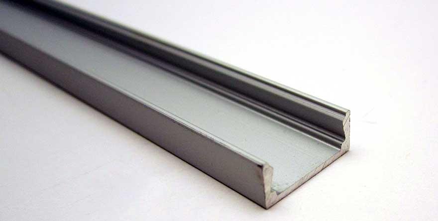 aluminium profile standard led world lighting. Black Bedroom Furniture Sets. Home Design Ideas