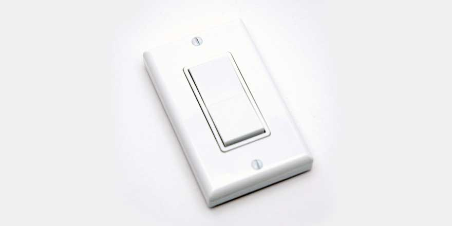 Wireless LED Dimming Switch 315MHz E3T-S1AXX