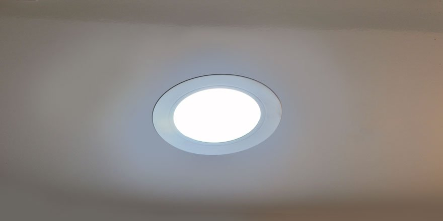 dimmable led puck light recessed surface mounted led. Black Bedroom Furniture Sets. Home Design Ideas