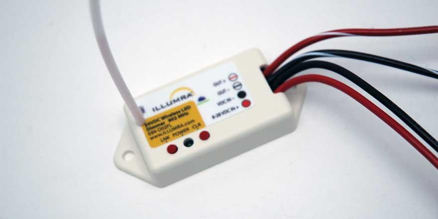 Wireless Dimmer Receiver 902MHz E9X-D02FL