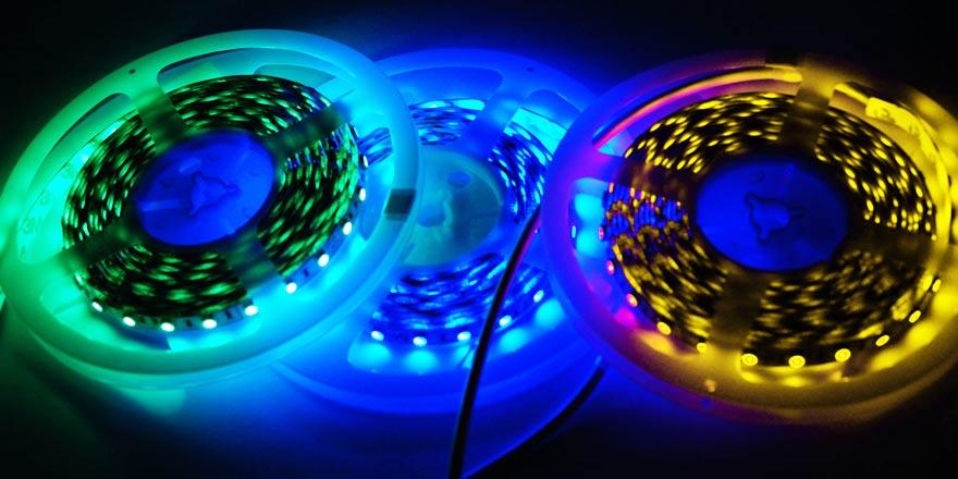 RGB LED Strip FA60M50 5M 24V RGB LED World Lighting