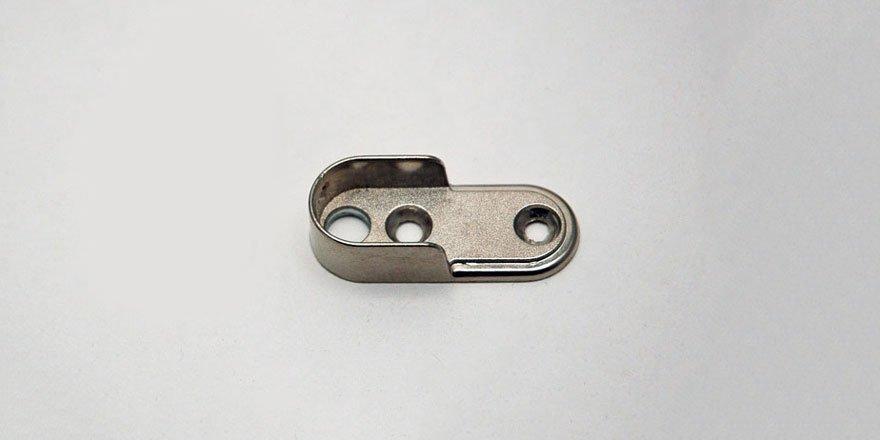 End Cap for LED Aluminum Closet Rod Channel