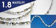 12V 1.8w/ft zigzag LED strip light
