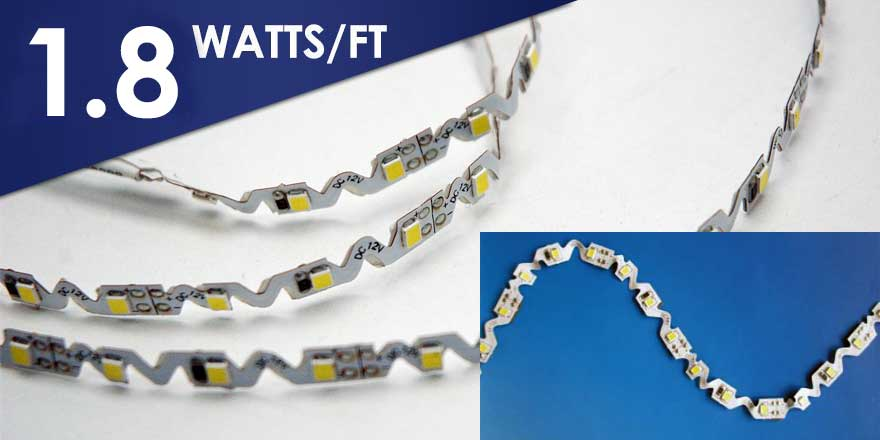LED Zigzag Strip Light FA60S28-3M-12V-X