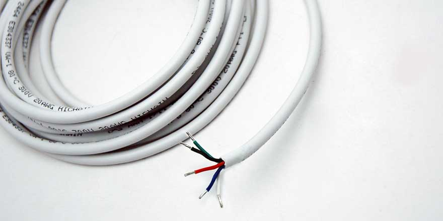 RGBW 2464 Wire – 16.4ft (5m) length