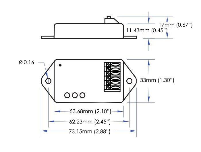 0-10v wireless dimmer receiver e3x-d01fp