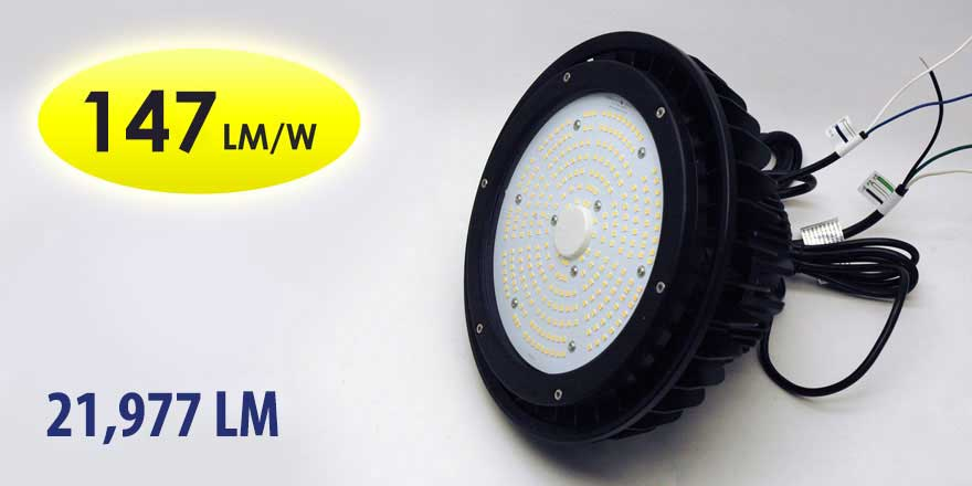 150W 120VAC LED High Bay HD-HB04-150WD-H5000K-X