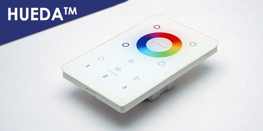 DMX Touch Panel RGB/RGBW LED Master Controller HUEDA LW-2814DMX