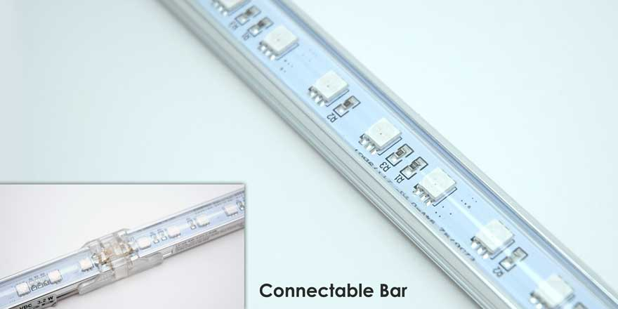 12″ long 12VDC RGB LED Bar LV-HS-RGB-12T2-1