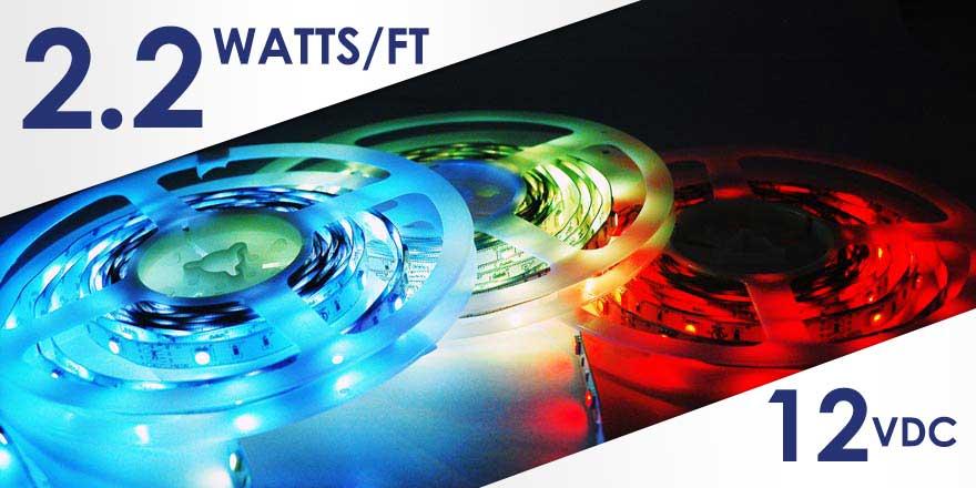 2.2W RGB LED Strip FA30M50-5M-12V-RGB