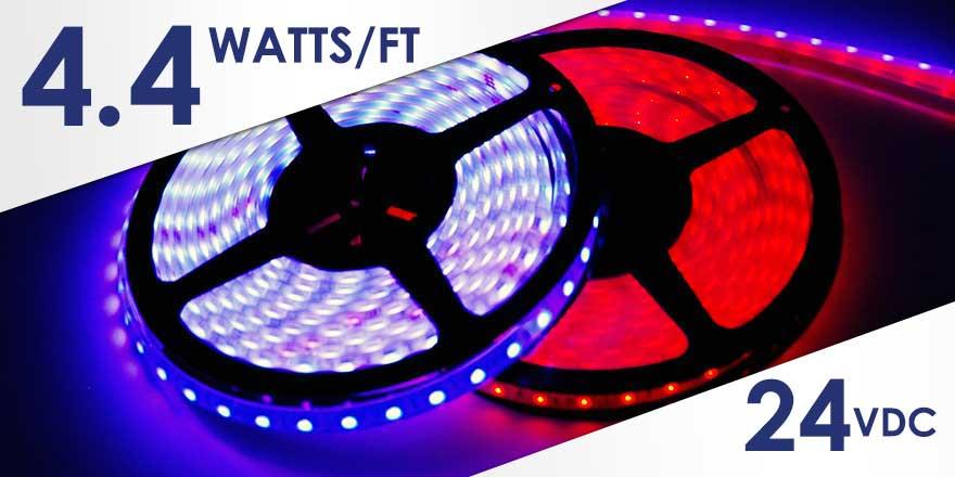 RGB Weather Resistant LED Strip FB60M50-6M-24V-RGB
