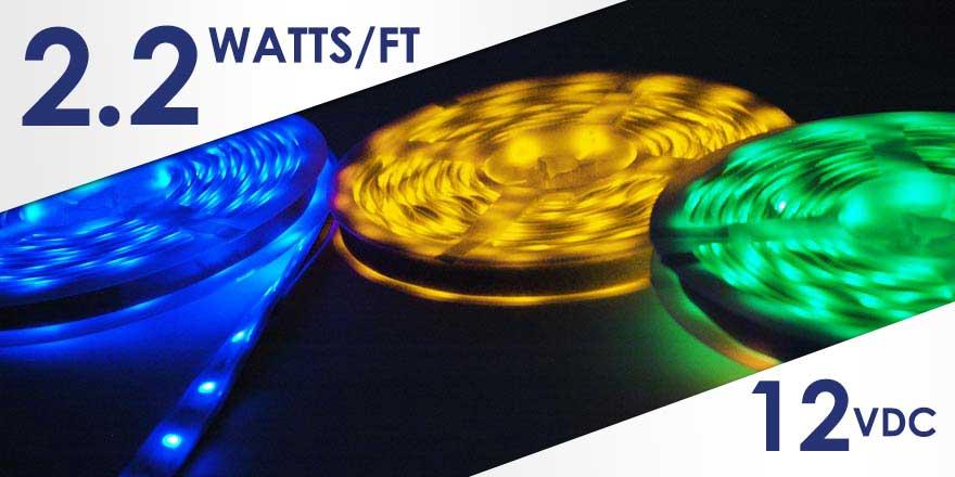Weather Resistant RGB LED Strip FC30M50-5M-12V-RGB
