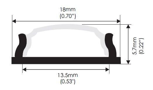 Bendable Profile Dimension