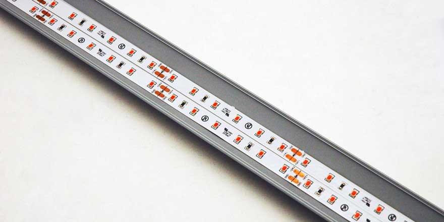 Linear Adjustable Aluminium LED Grow Profile