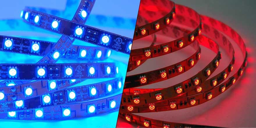 LED Grow Strip Triple Bright FA60M50-5M-24V-X-GROW