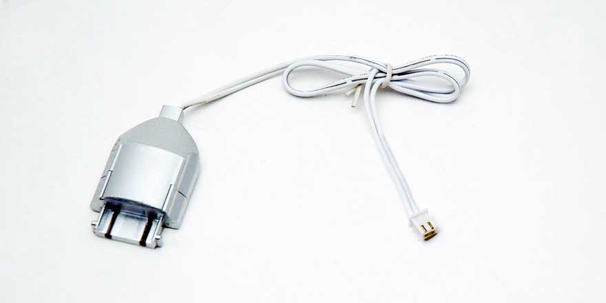 Seamless LED Bar Power Cable Connector