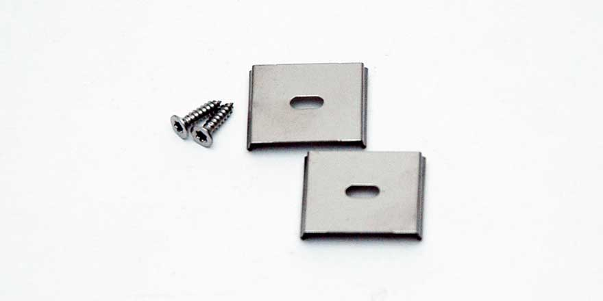 Mounting Clips Pair for Seamless LED Bar