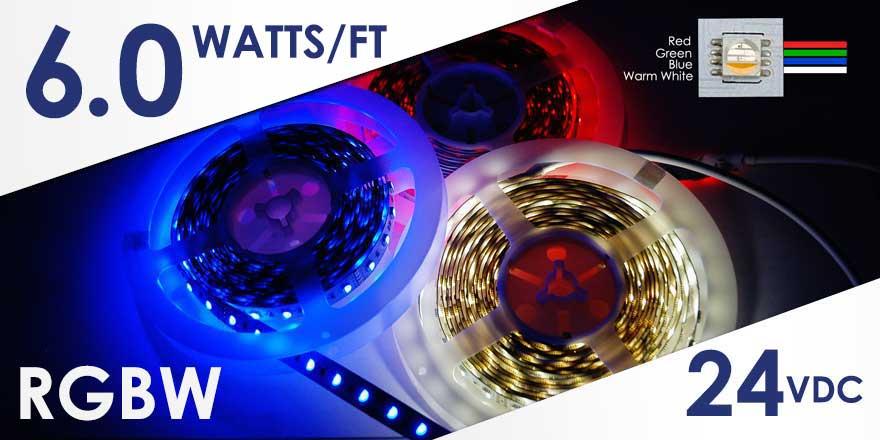 RGBW LED Strip FA60M50-5M-24V-RGBW