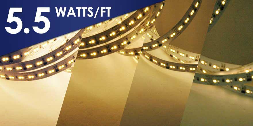 Dim to Deep Warm White EvenBright LED Flexstrip FA224M20-5M-24V-WW
