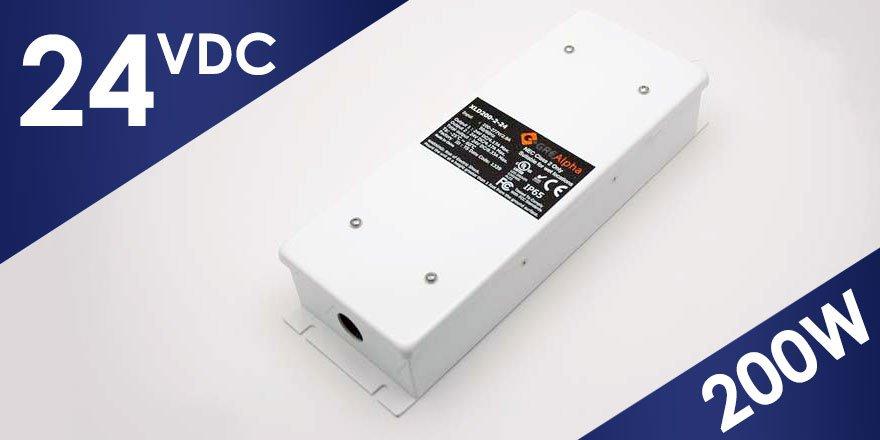 200W 24VDC Class 2 LED Power Supply XLD200B-224V-FC