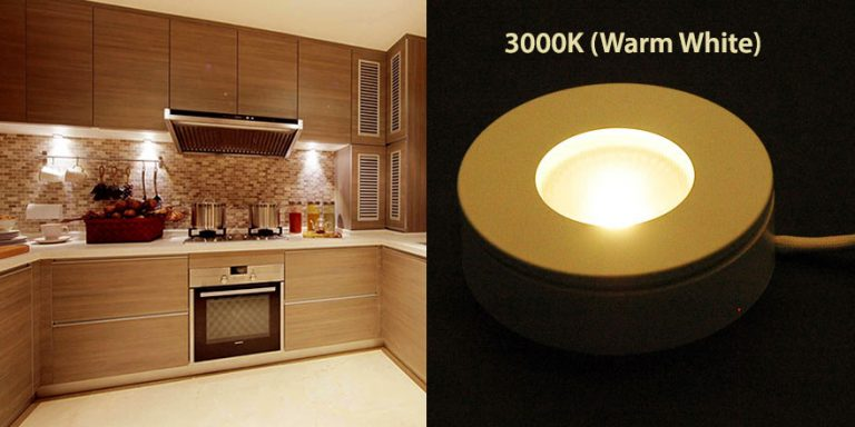 3000K LED Puck light