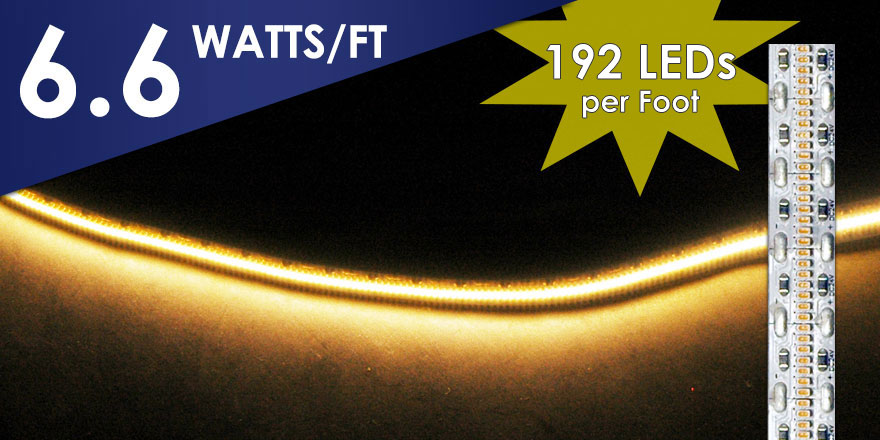 EvenBrighter High Light Output LED Flexstrip FA630M21-XM-24V-X