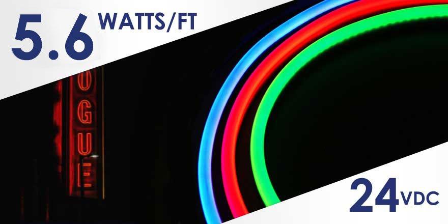 24VDC LED Neo-Flex RGBW Strip FC84M50-5M-24V-RGBW