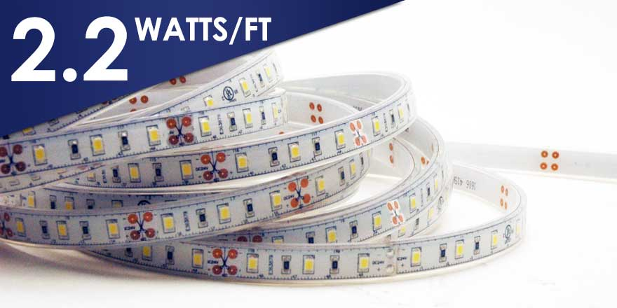Water Resistant LED Flexstrip FC60M28-5M-12V-X