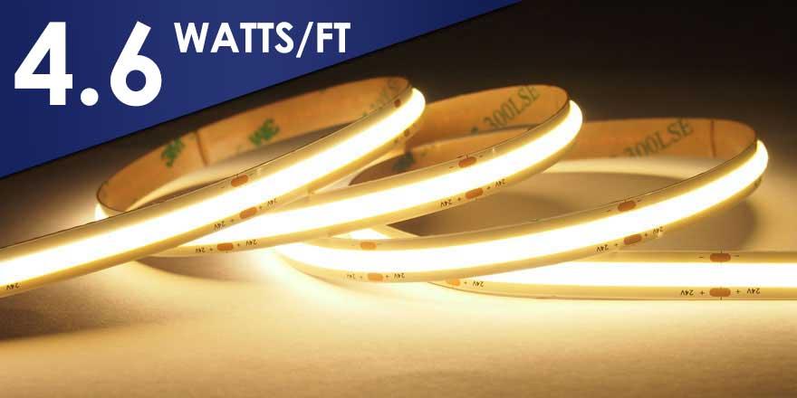 No Spot EvenBright COB LED Strip – HH-SCOBX-528-24