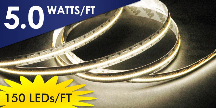 EvenBright 150 LEDs/FT LED Flexstrip FA490M21-5M-24V-X