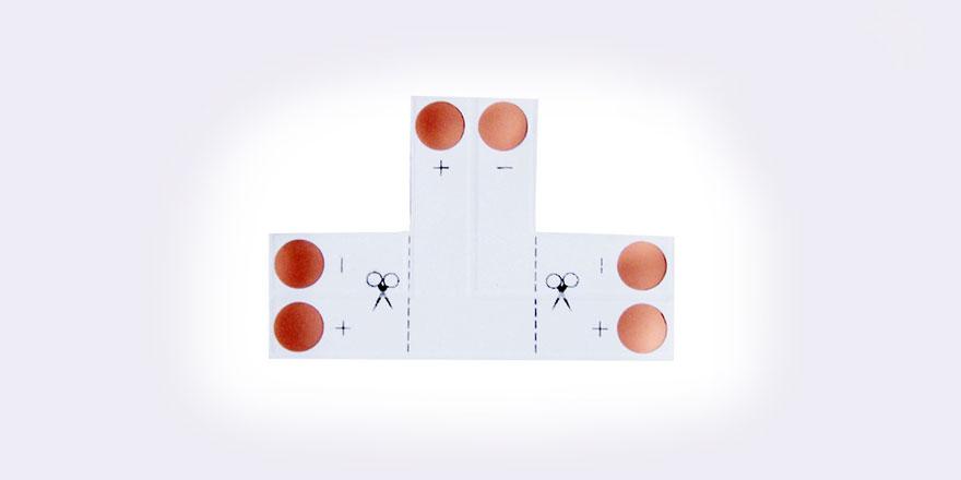Single Color Strip T Connector – S10-T2A