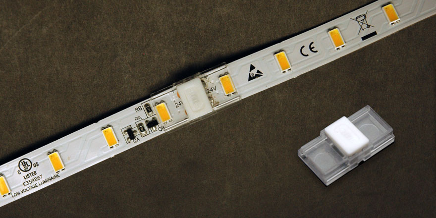 Mini 2 Pin Strip to Strip Clamp Connector – CL10BB-2