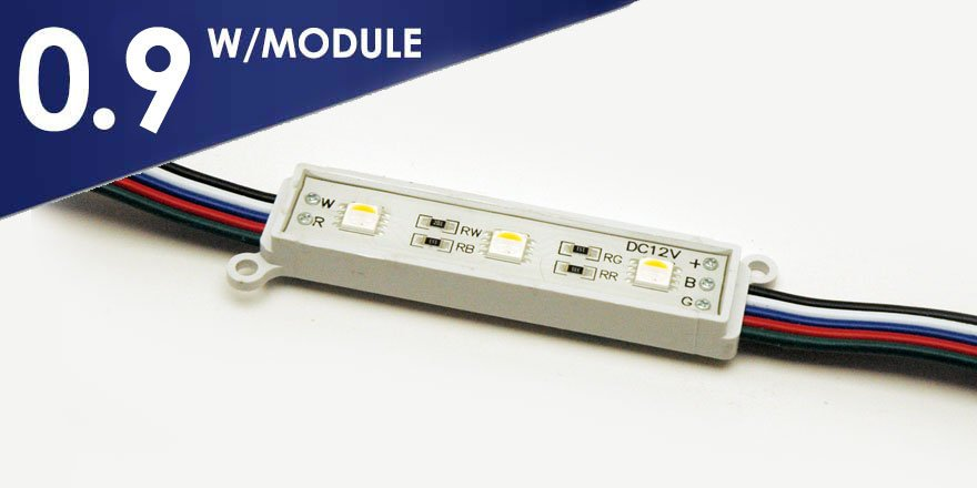 RGBW LED Sign Modules BV-D3-RGBW
