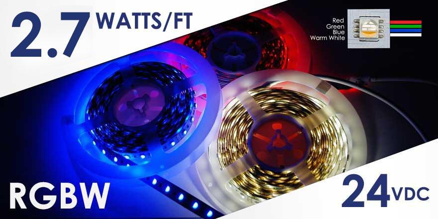 Long Run RGBW LED Flex Strip – FA60M51-10M-24V-RGBW